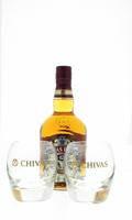 Afbeeldingen van Chivas Regal 12 Years + 2 glazen 40° 0.7L