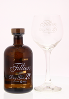 Afbeeldingen van Filliers Dry Gin 28 + Glas + GBX 46° 0.5L