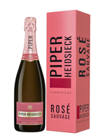 Afbeeldingen van Piper-Heidsieck Rosé Sauvage + GBX 12° 0.75L
