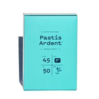 Afbeeldingen van Pastis Ardent + Glas 45° 0.5L