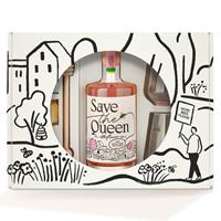 Afbeeldingen van Save The Queen Elderflower Giftpack 18° 0.5L