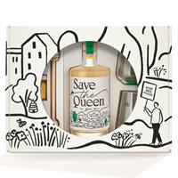 Afbeeldingen van Save The Queen Gin Giftpack 46° 0.5L
