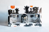 Afbeeldingen van Gin de Binche + 2 Glazen 40° 0.35L