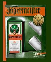 Afbeeldingen van Jägermeister ( EN ) + 2 Glazen 35° 0.7L